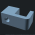 Fully Customizable Cable Clip with Nail Hole image