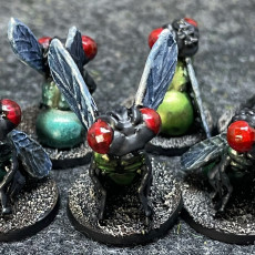 Picture of print of Rangers of Shadow Deep - Giant Fly Minis and Spawn Points