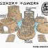Sci Fi - Legion - Modular Desert Towers image