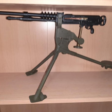 Picture of print of Hotchkiss M1914 - scale 1/4