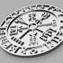Runic Viking Symbol Coaster image