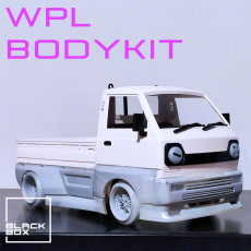 WPL D12 RC Complete Bodykit Widebody