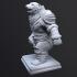 Polar bear warrior image