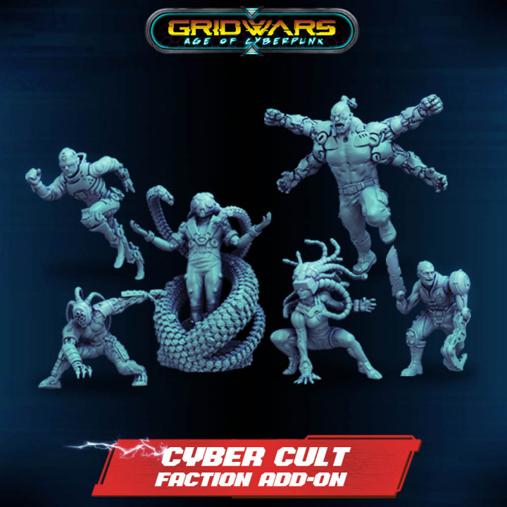 Add-on - Cyber Cult Faction Extension's Cover