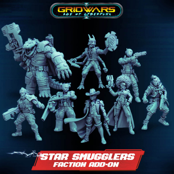 Add-on - Star Smugglers Faction's Cover