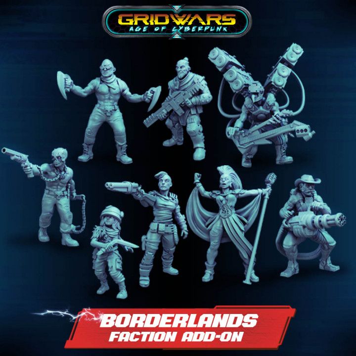 Add-on - Borderlands New Faction's Cover