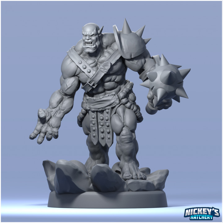 Orc - Mountain Tribe - Crusher's Cover