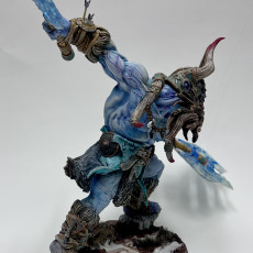 Picture of print of Hulgfnir - Frost Jotunn Champion