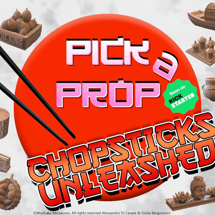 Pick A Prop! Chopstick Unleashed!'s Cover