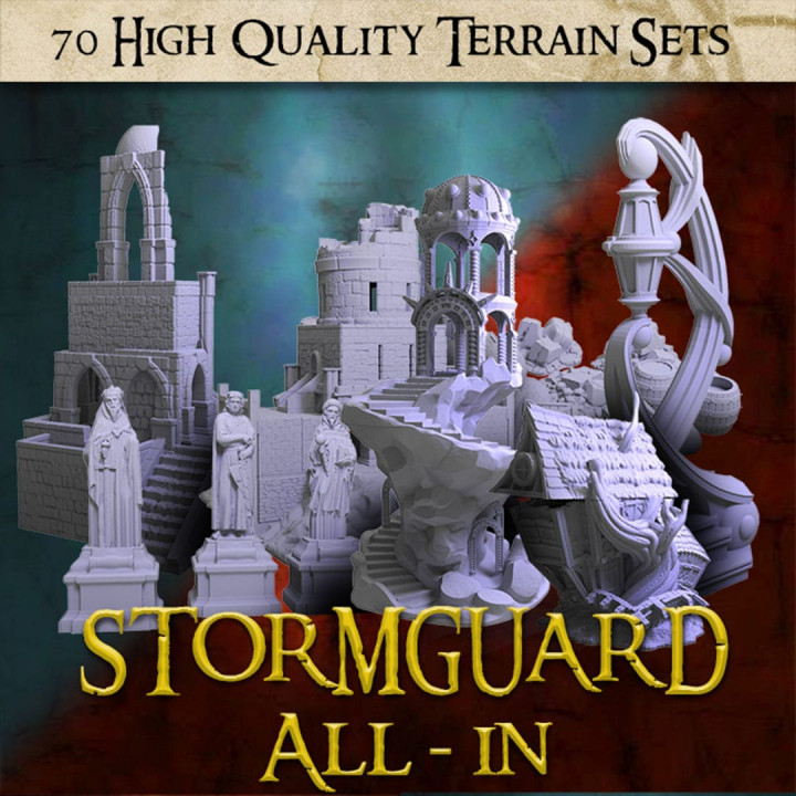 Stormguard All-In - 70 terrain STL Sets's Cover