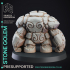 Stone Golem - Construct - PRESUPPORTED - D&D 32mm image