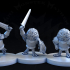 Mighty Owl Knights (3 poses) image