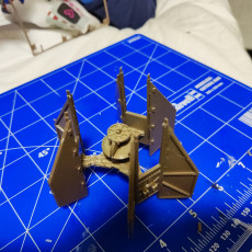 Picture of print of Tie Fighter Defender Kit Card