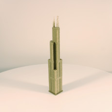 Picture of print of Willis (Sears) Tower - Chicago, USA