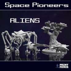 Aliens & Monsters - Creatures from an Alien Planet - Space Pioneers Collection
