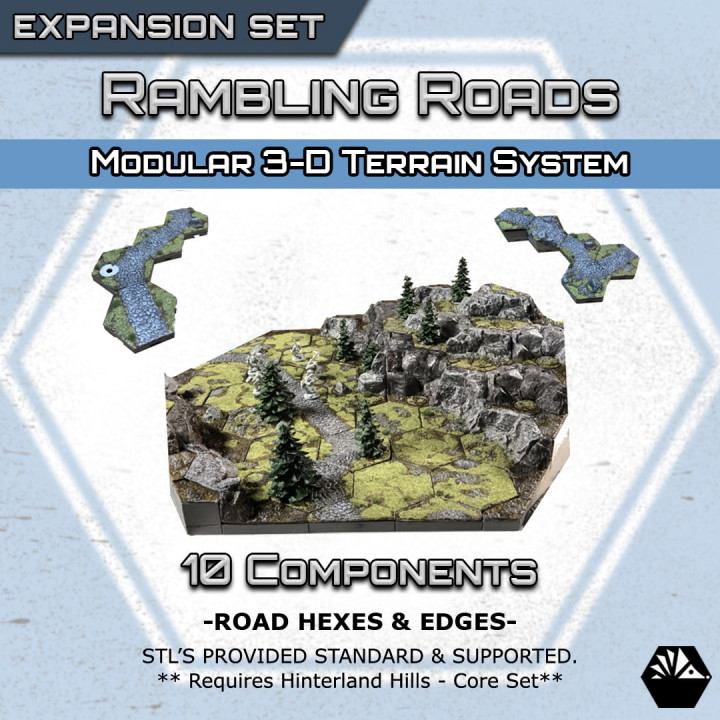 HexhogTabletops: Rambling Road - Expansion Set -'s Cover