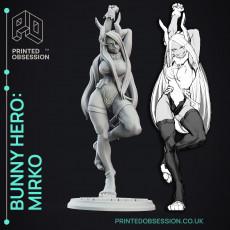 Mirko: Bunny Hero - My Hero Academia - 30cm Fanart