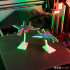 Print-in-place and articulated Jet Fighter with Stand image