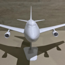 Picture of print of Boeing 747SP -1:200
