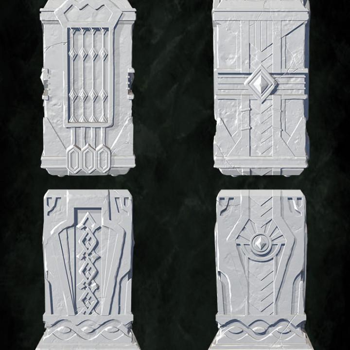 Dwarf columns's Cover