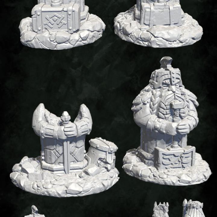 Dwarf settlement ruins's Cover
