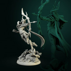 Niel Elven Queen 32mm and 75mm pre-supported