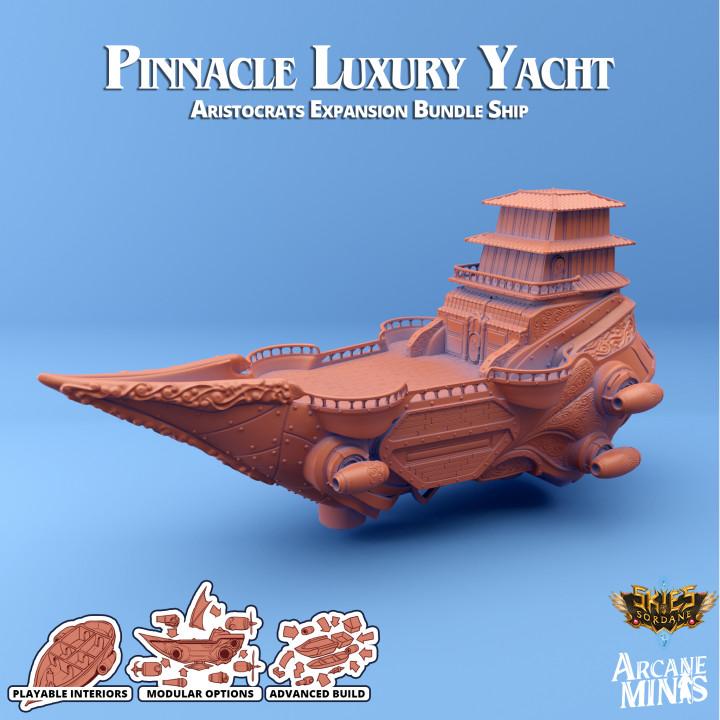 Airship - Pinnacle Luxury Yacht's Cover