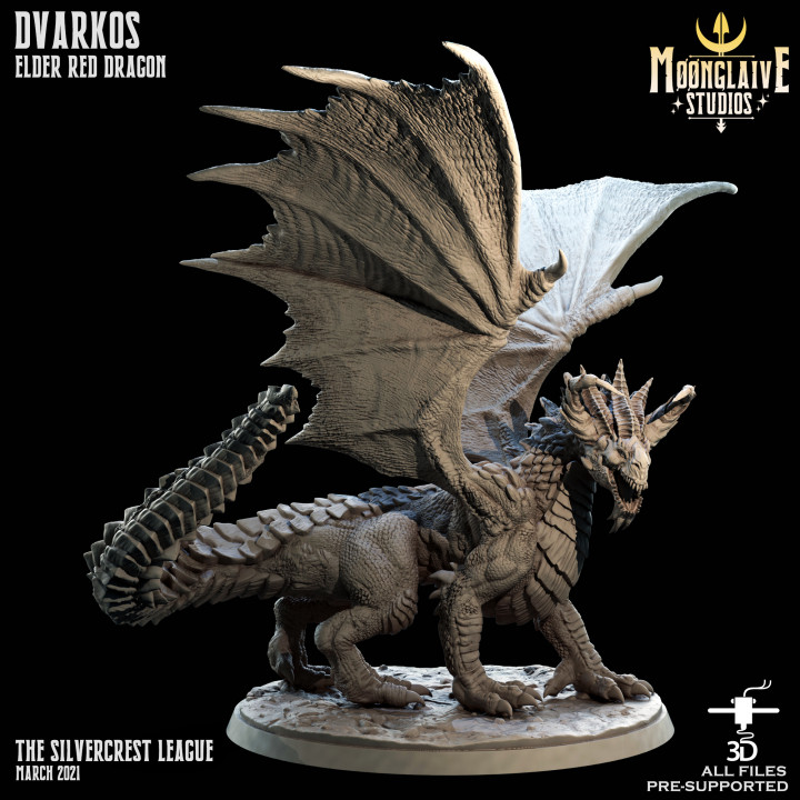 Dvarkos, Red Dragon