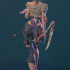 Cyberpunk Girl Blossom image