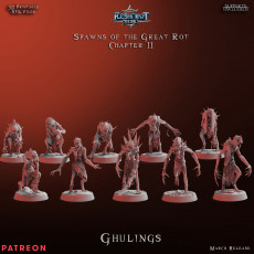 Spawns of the Great Rot - Ghuls