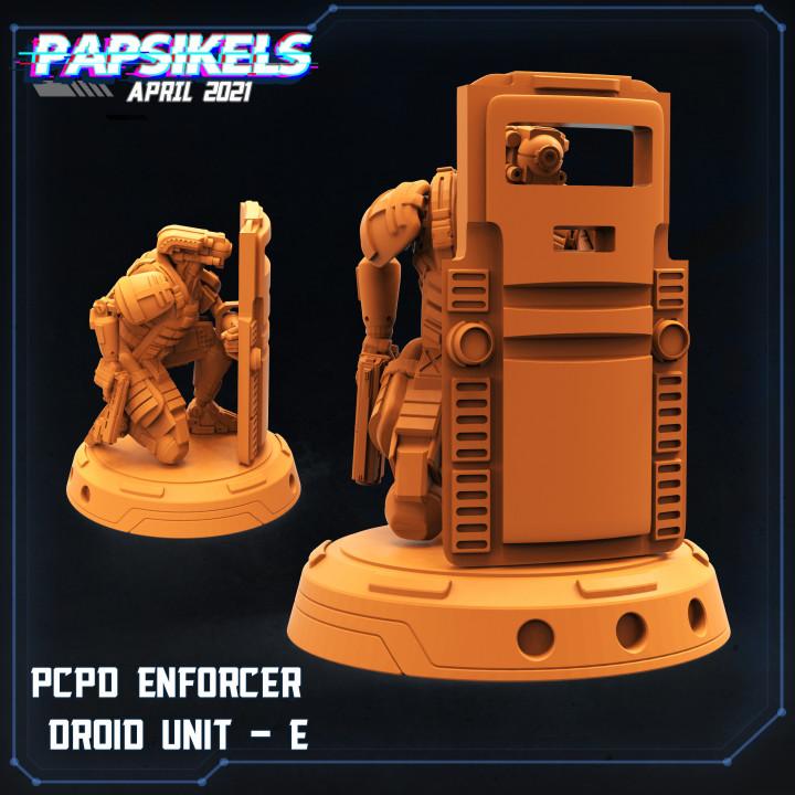 PCPD ENFORCER DROID UNIT - E