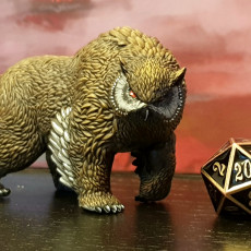Picture of print of Obear - Tabletop Miniature