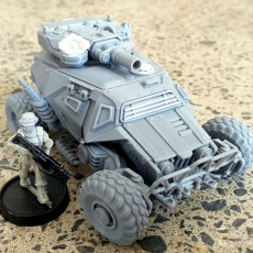 Picture of print of ROACH - Modular Truck Model Kit in 28mm Scale