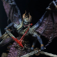 Picture of print of The Lust God - Prince of Pain - Dark Gods