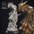 Mothman - Cryptid - PRESUPPORTED - 32mm Scale image