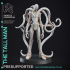 Tall man - Cryptid - PRESUPPORTED - 32mm Scale - Slenderman D&D Style image