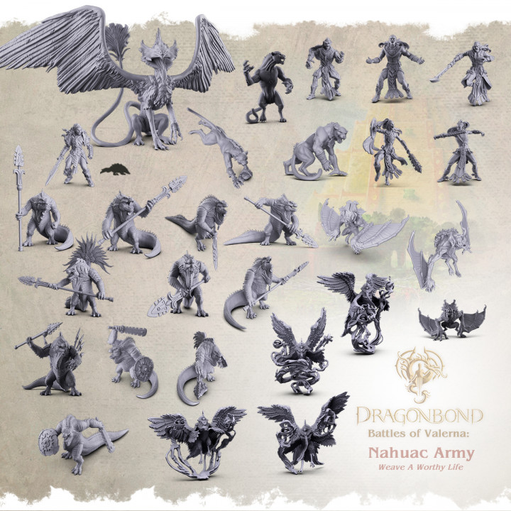 Nahuac Army from Dragonbond: Battles of Valerna's Cover