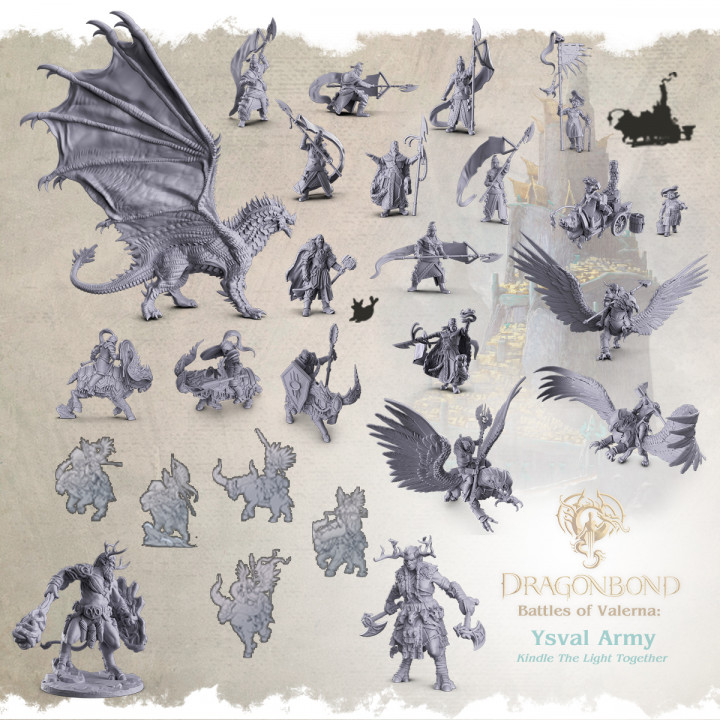 Ysvalian Army - Dragonbond: Battles of Valerna's Cover