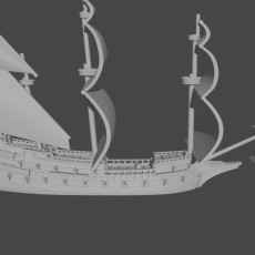 17th Century Ships (1/600)