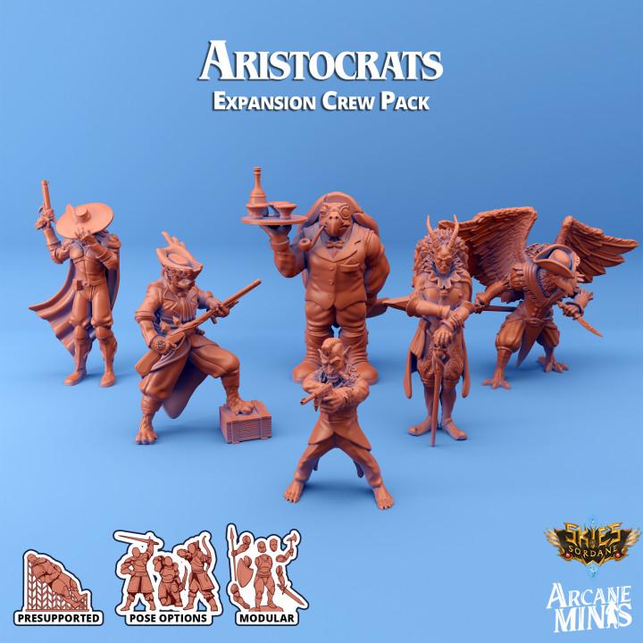 Aristocrats - Luxury Yacht Crew's Cover