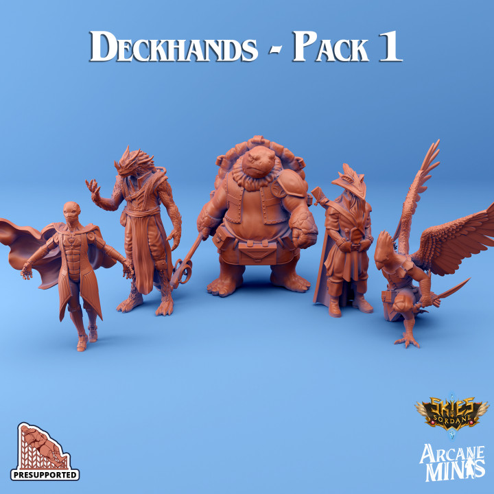 Deckhands - Pack 1's Cover