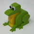 A 3D Printed Simple Mechanical Frog. image