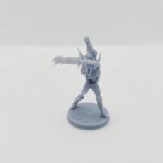Picture of print of Frost Bitten Berzerker (4 minis)