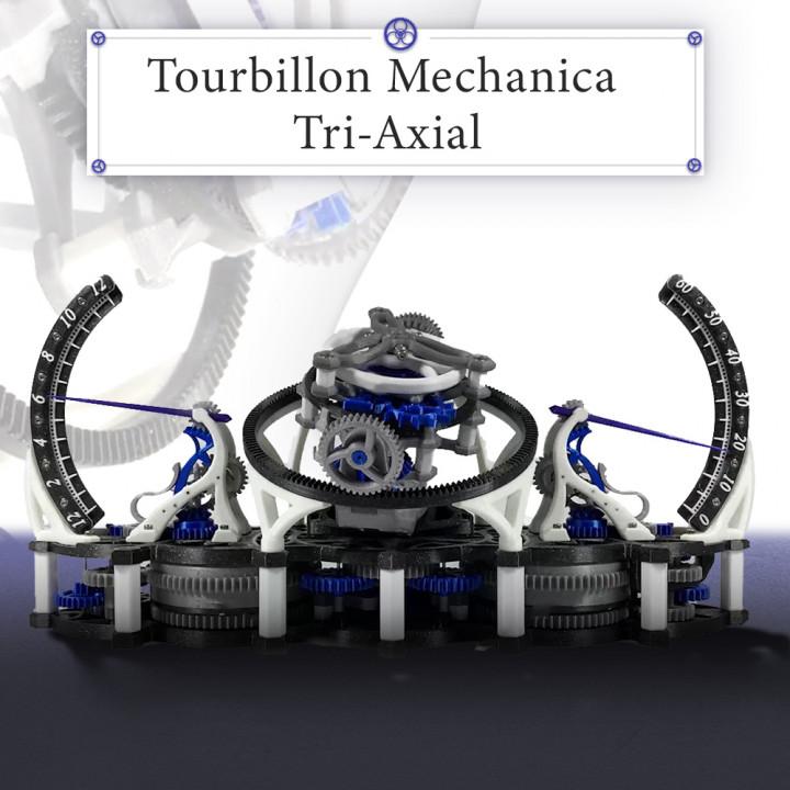 Tourbillon Mechanica Tri-Axial's Cover