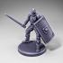 Skeleton - Infantry - Spatha + Scutum Shield - Ready Pose image