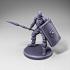 Skeleton - Infantry - Javelin + Scutum Shield - Ready Pose image