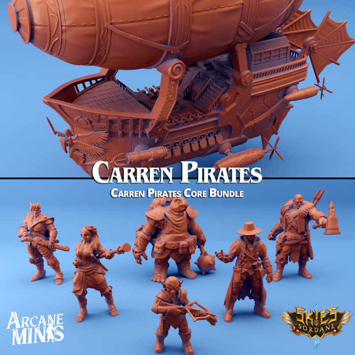 Carren Pirate Guilds Core Bundle's Cover