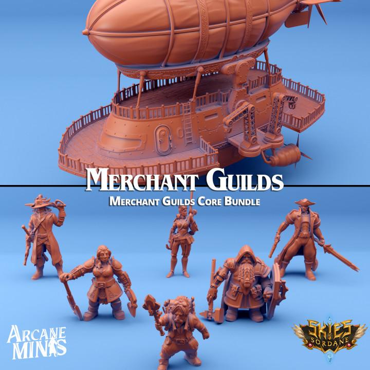 Merchant Guilds Core Bundle's Cover