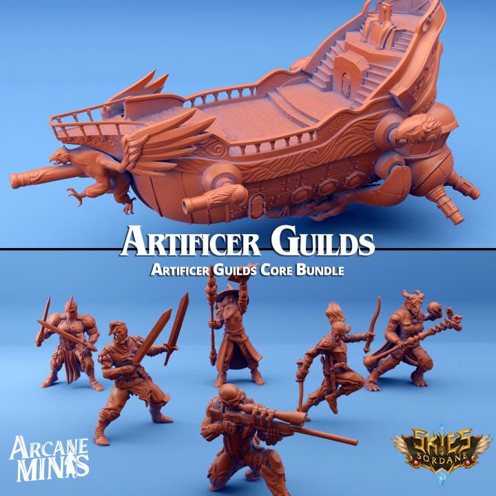 Artificer Guilds Core Bundle's Cover
