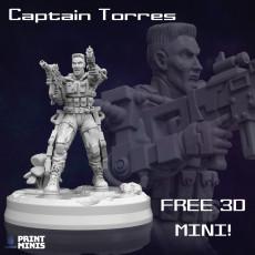 FREE - Captain Torres - Interstellar Special Forces Agent